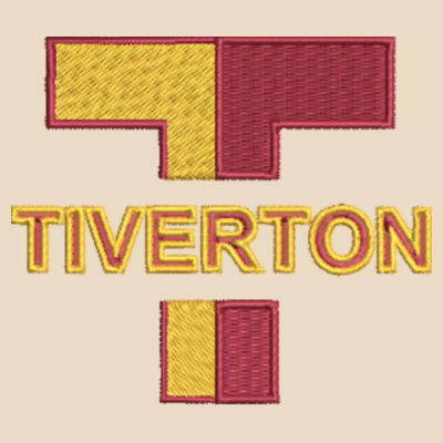 TIVERTON - 2-Tone Shopping Tote Design
